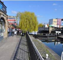 Hampstead Road Lock - the starting point