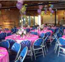 A wedding dinner party on the first floor